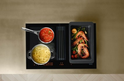 meilleur service 99bf3 c8428 MIELE - TABLE AVEC HOTTE INTEGREE | Cuisinov